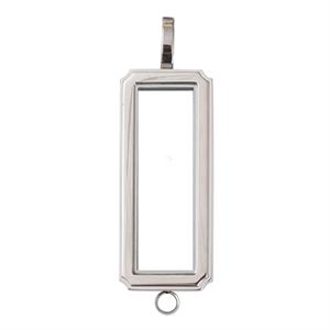 Picture of Silver Rectangular Locket